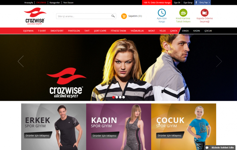 Crozwise E-Ticaret